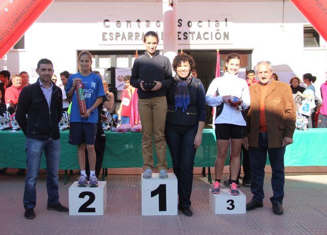 400 atletas de la Región de Murcia participan en la XX Carrera Popular de La Estación-Esparragal - 1, Foto 1