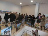 Inauguración de exposiciones de artista locales en la pedanía de La Estación- Esparragal con motivo de las Fiestas de la Purísima