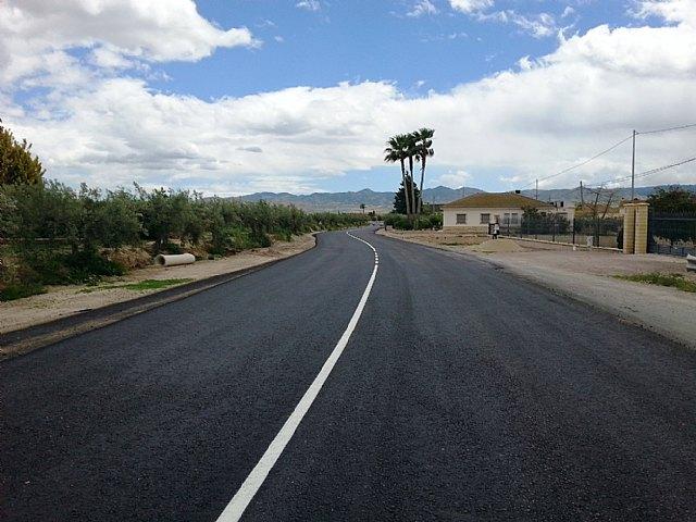 Obras Públicas destinará el año próximo 10,6 millones a la recuperación de carreteras en Lorca - 1, Foto 1