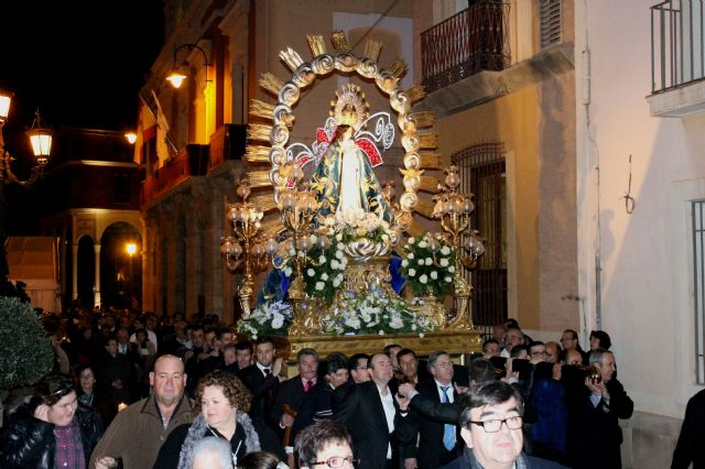 Los mazarroneros profesan un año más su amor a la Purísima Concepción, Foto 2
