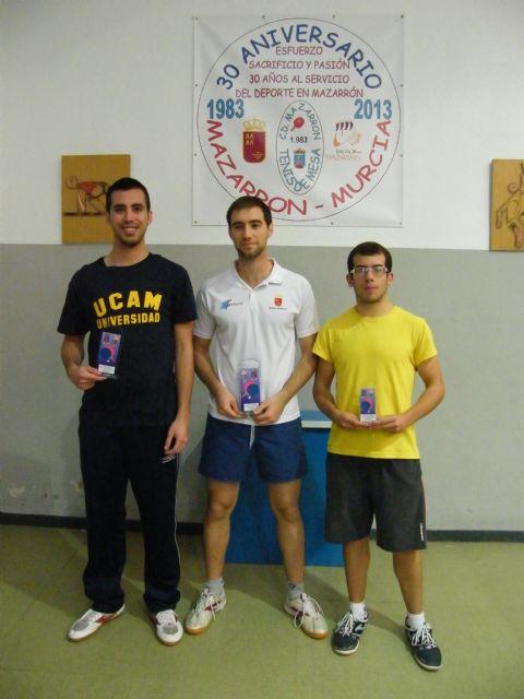 Miguel Ortiz, medalla de bronce en el nacional de tenis de mesa de Alcobendas, Foto 1