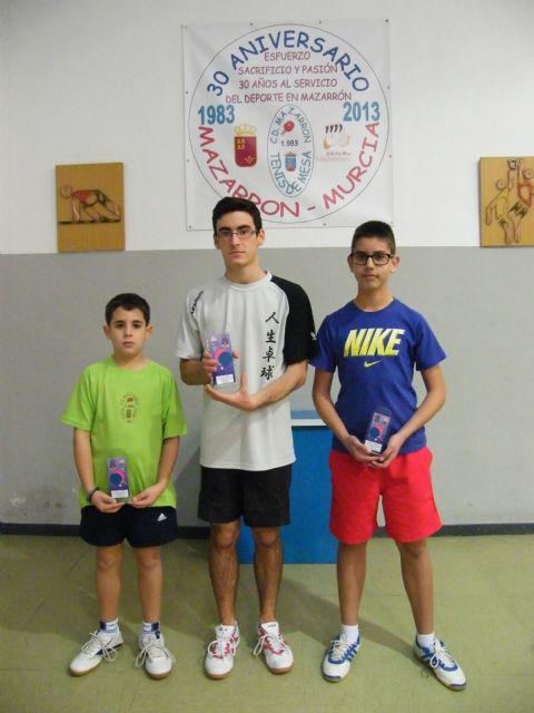Miguel Ortiz, medalla de bronce en el nacional de tenis de mesa de Alcobendas, Foto 2
