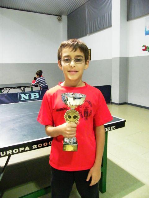 Miguel Ortiz, medalla de bronce en el nacional de tenis de mesa de Alcobendas, Foto 3