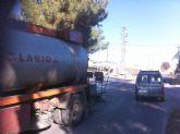 Comienzan las obras de arreglo del camino de Los Yesares que est� acondicionando la Comunidad Aut�noma
