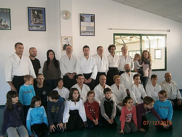 The Aikido Club Totana performed for the third consecutive year open day