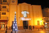 Las luces navideñas iluminan Puerto Lumbreras con iluminación led para favorecer el ahorro energético