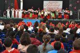 Los niños pinatarenses dan la bienvenida a la Navidad en el II Encuentro de Villancicos escolares