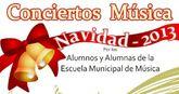 Esta tarde comienzan los conciertos 'navidad 2013' de la escuela municipal de música que tendrán lugar en 'la cárcel'