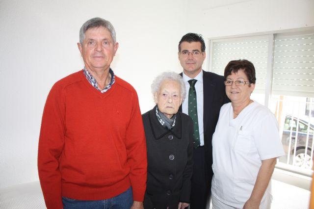 El alcalde de Torre-Pacheco visita a la persona más longeva del municipio - 2, Foto 2