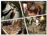 Inauguran el nuevo Belén de la Hermandad del 'Beso de Judas y Jesús Traspasado'