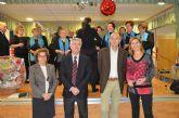 El director general del IMAS y el Alcalde de San Javier felicitaron la Navidad a los mayores de San Javier en un 'Desayuno navideño'