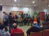 La Rondalla y Coros de La Algaida organizan un día de fiesta navideña en la residencia 'Nuevo Azahar'