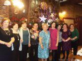 Las mujeres de Alguazas reciben la Navidad con la tradicional cena de convivencia