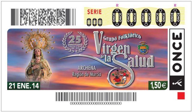 La imagen del Grupo Folklorico Virgen de La Salud anunciará el cupón de la ONCE el próximo 21 de Enero de 2014 - 1, Foto 1