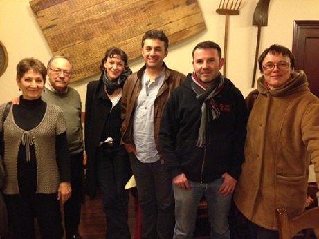 David Fernández participa en un encuentro entre el Parti de Gauche y Ecosocialistas de la Región de Murcia, Foto 1