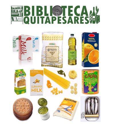 Biblioteca Quitapesares de Torre-Pacheco lleva entregados 411kilos de alimentos a Caritas - 1, Foto 1