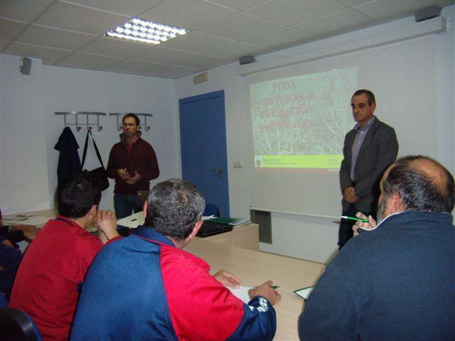 Inauguración del curso de poda de frutales - 1, Foto 1