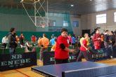 Los estudiantes alguaceños se clasifican para la final regional de Tenis de Mesa de Deporte en Edad Escolar