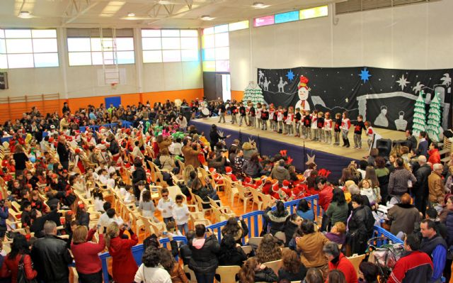 Los alumnos de los colegios de Puerto Lumbreras celebran las tradicionales Fiestas de Navidad - 2, Foto 2