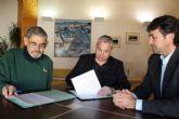 El Ayuntamiento firma convenios de colaboraci�n con la Cofrad�a de Pescadores de Mazarr�n y con diversas asociaciones del municipio