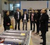El Grupo Socialista inicia en Tessai una ronda de visitas a las empresas murcianas