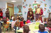 El Cartero Real llega a los Centros de Educación Infantil y Primaria de Puerto Lumbreras