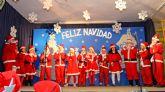Los alumnos de los colegios de Puerto Lumbreras celebran las tradicionales Fiestas de Navidad