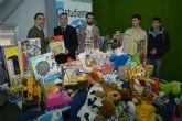 El Ayuntamiento inicia en la UPCT la recogida de juguetes solidarios