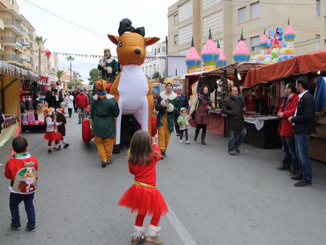 Inaugurado el Mercado Artesanal de Navidad 2013 en Puerto Lumbreras - 1, Foto 1