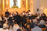 La iglesia San Pedro Apóstol acoge el concierto 'Entre Voces' de la coral Patnia