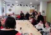 Los concejales del Grupo Socialista celebran la Navidad con los jóvenes del Centro de Día Juan Cerezo