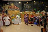 Los mayores del Centro de Día realizan un Belen Viviente