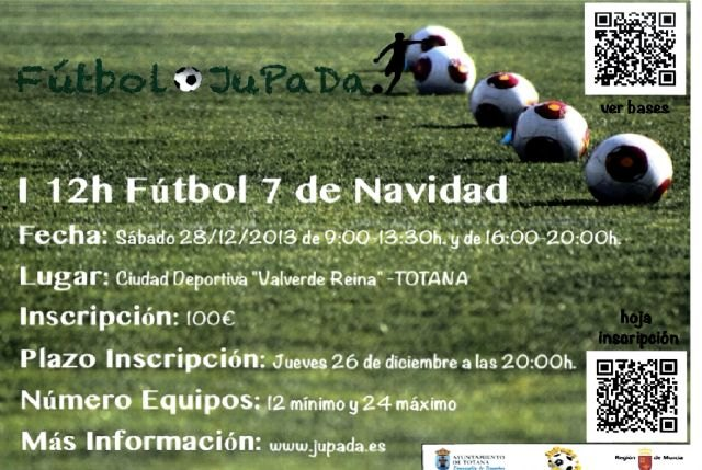 The First Christmas Football Tournament-7 Totana be held on December 28