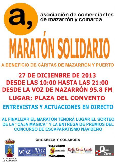 Maratón de radio solidario para el próximo viernes 27  de diciembre, Foto 1