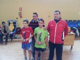 Tres medallas para el C.D. Tenis de Mesa Mazarr�n