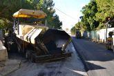 El Ayuntamiento renueva el asfaltado de calles y avenidas del municipio