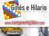 Compra tus tejidos online en la nueva página de Ginés e Hilario