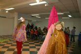 Comienza la serie de representaciones del espectáculo de títeres 'El cuarto Rey' que se pone en escena del 26 al 28 de diciembre