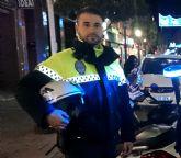 Felicitación y reconocimiento al agente de la Policía Local, Óscar Martínez