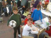 Juegos populares y talleres de manualidades infantiles