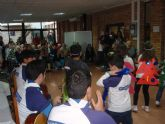 Festival de villancicos de los Scouts de Renfe en la residencia de Ferroviarios