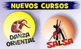 Nuevos cursos de DANZA ORIENTAL y SALSA en Totana