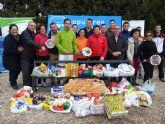 El PP de Lorca recoge más de 250 kg. de alimentos para Cáritas a través de su Torneo Solidario de Pádel