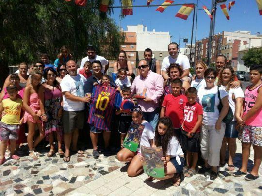 D´Genes agradece toda la trayectoria altruista de la Peña Barcelonista de Totana durante el 2013 - 1, Foto 1