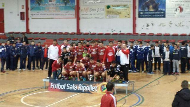 El equipo Cadete Aljucer ElPozo FS, campeón del torneo de Navidad de Ripollet - 1, Foto 1