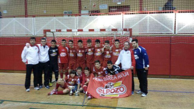 El equipo Cadete Aljucer ElPozo FS, campeón del torneo de Navidad de Ripollet - 2, Foto 2