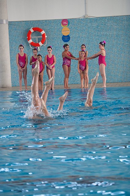 Synchronized Swimming Exhibition on the occasion of the Holidays