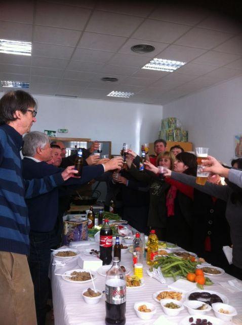 El Centro Especial de Empleo de Totana celebra una jornada de convivencia para realizar un balance de las actuaciones del 2013 - 2, Foto 2