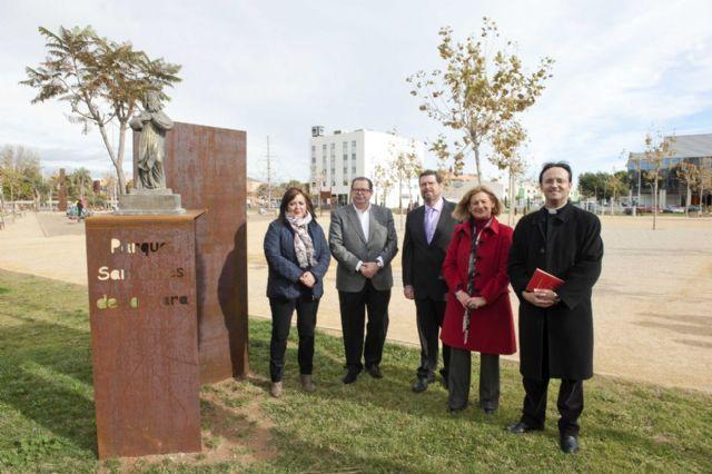 El Parque de San Ginés ya tiene a su santo - 4, Foto 4