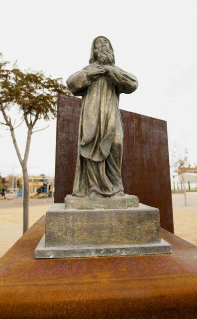 El Parque de San Ginés ya tiene a su santo - 5, Foto 5
